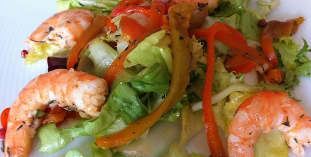 Poivron archives je cuisine mon potager - Salade verte composee ...