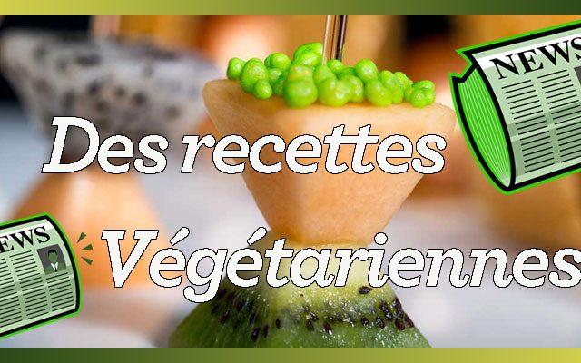 Des recettes végétariennes