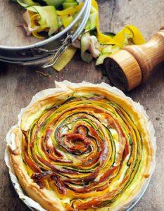 Découvrez des recettes et idées culinaire pour des moments de fête et de partage entre amis lors d'un l'apéro. tarte légume jambon
