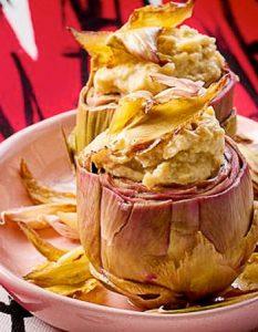 Artichauts topinambours. Elaborer des recettes végétariennes (végan) à partir des produits du potager, légumes et les fruits, souvent qualifiées de recettes minceur.