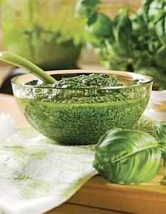 pesto. Des recettes de conserves pour les légumes et fruits de votre potager et de votre verger : lacto-fermentation, stérilisation, sel, sucre, huile, vinaigre