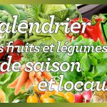Calendrier des fruits et légumes de saison et locaux