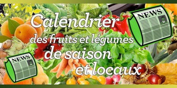 Calendrier des fruits et légumes de saison et locaux