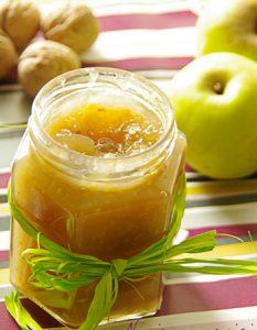 Pomme aux noix. Des recettes de conserves pour les légumes et fruits de votre potager et de votre verger : lacto-fermentation, stérilisation, sel, sucre, huile, vinaigre