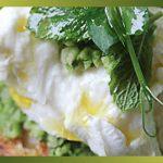 Recette-PetitPois-Crostini de saison à l'écrasée de petits pois , menthe et mozzarella