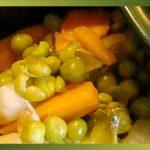 Recette-PetitPois-Jardinière de légumes nouveaux