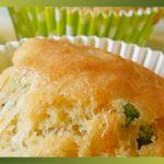Recette-PetitPois-Cakes aux petits pois et comté