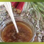 Recette-Confiture de rhubarbe à la vanille
