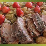 Recette-Filet mignon à la rhubarbe