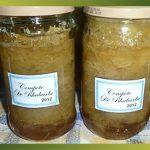Recette-Rhubarbe en compote