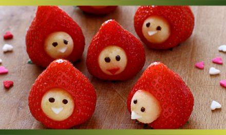 Petits bonhommes avec des fraises ?