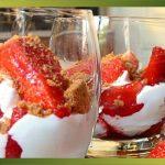 Recette-Des fraises, des spéculoos et du mascarpone