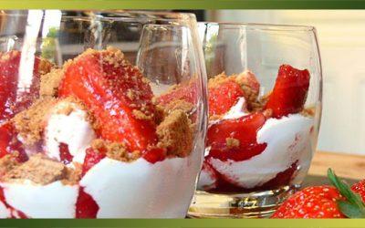 Des fraises, des spéculoos et du mascarpone…