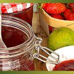 Recette-Confiture de fraises au citron vert