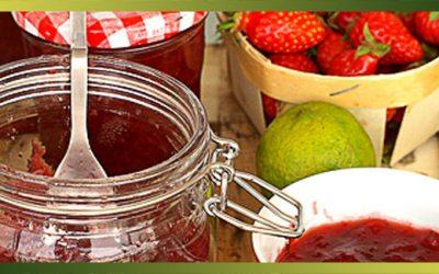 Confiture de fraises & citron vert