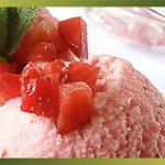 Recette- Yogourt glacé aux fraises