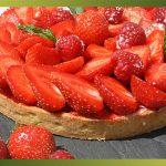 Recette-Tarte aux fraises