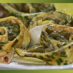 Recette-Rotolo aux haricots verts en salade