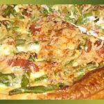 Recette-Tarte haricots verts, jambon cru, kiri