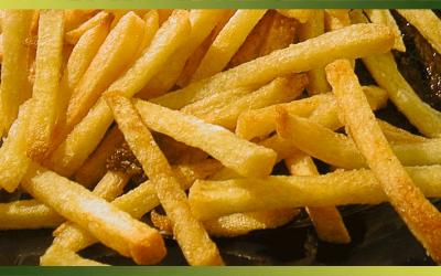 Des frites belges mais aussi une farandole de frites de légumes…