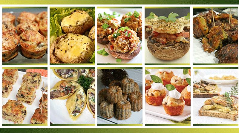 10 Idées Apéro à Base De Champignons Je Cuisine Mon Potager