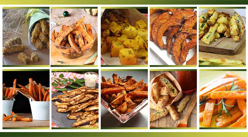 10 légumes en frite, vous allez craquer !