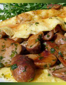 Cèpes et foie gras, c'est si bon !