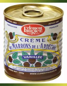La véritable recette de Crème de Marrons de l'Ardèche