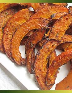 Potimarron rôti aux épices douces