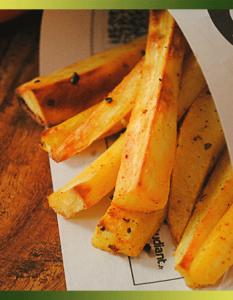 Frites de panais aux épices