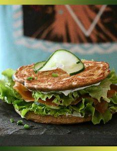 Sandwich blinis au sarrasin