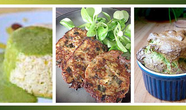 Recettes pour cuisiner le vert des poireaux