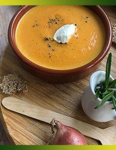 Soupe à la carotte
