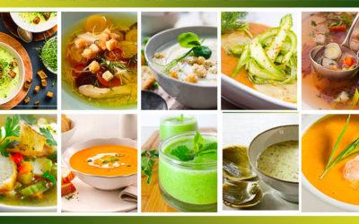 Conseils pour la préparation et la cuisson des légumes pour les soupes