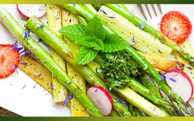 Les asperges, un légume tendre du printemps