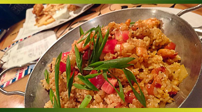 Le jambalaya est une spécialité culinaire à base de riz