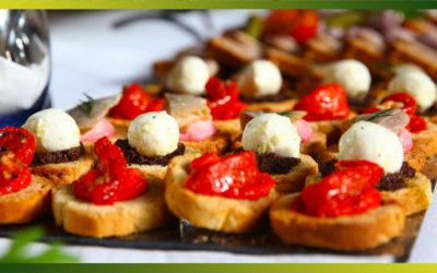 Recettes apéro de tartelettes aux légumes ou fruits